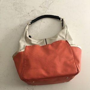 Diane Von Furstenberg Bags - Diane Von Furstenberg color blocked hobo bag